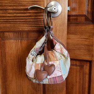 All Relle Handcrafted Patchwork Wristlet Handbag